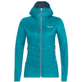 SALEWA Ortles Hybrid Chaqueta TirolWool Celliant Mujer, ocean